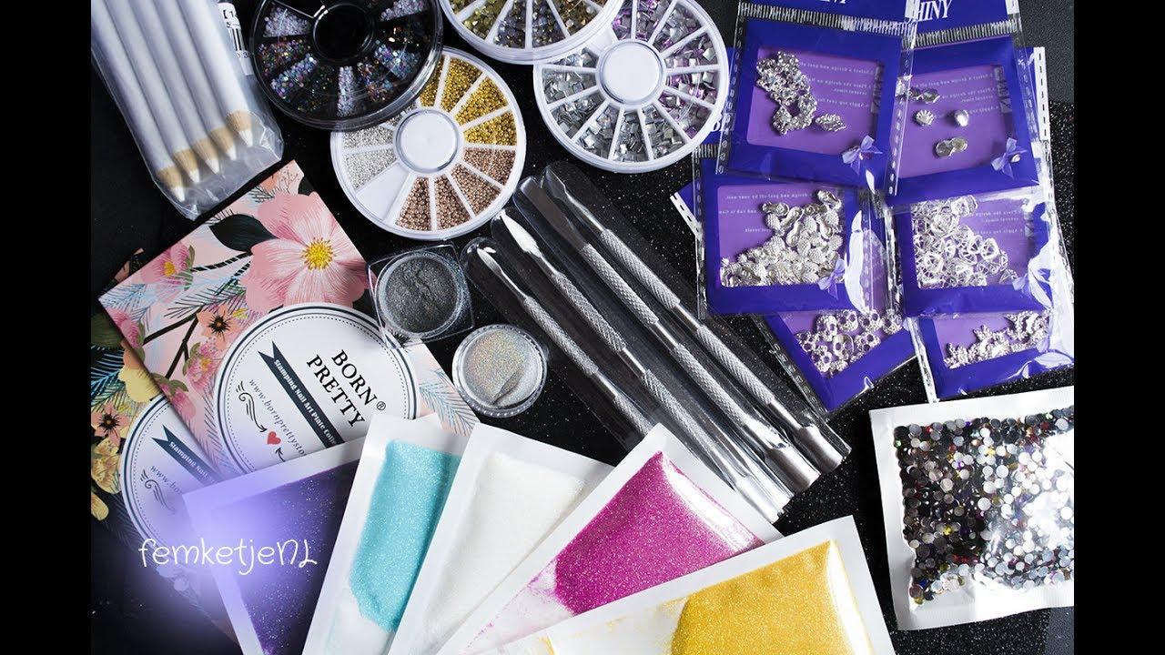 HUGE Nail Art Supplies Aliexpress Haul - femketjeNL