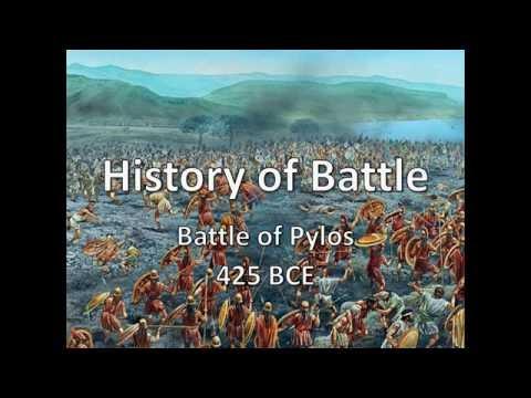 History of Battle - The Battle of Pylos (425 BCE)