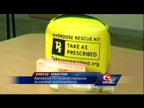 Kentwood Police given life-saving medication to help battle opioid epidemic