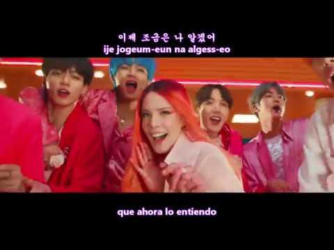 BTS - BOY WITH LUV (작은 것들을 위한 시) MV [Sub Español + Hangul + Rom] HD