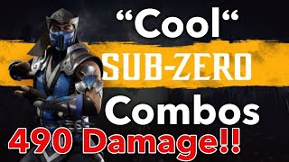 MK11 Sub Zero Combo Video [Mortal Kombat 11]