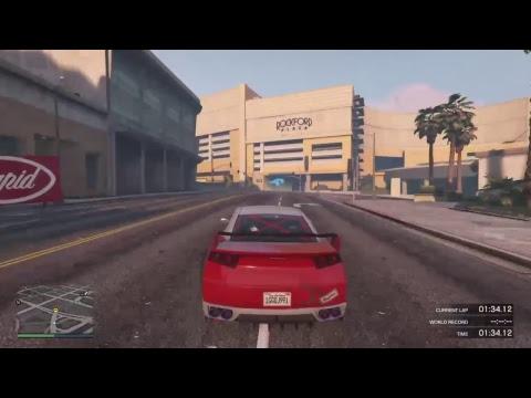 Grand theft auto v ps4 TCB2 casino speedway