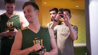 USF Men's and Women's Basketball Locker Rooms revealed