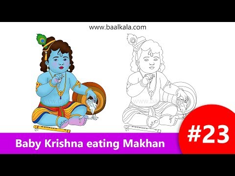 draw-cute-baby-krishna-eating-butter-(makhan)-step-by-step-easy-drawing-for-kids
