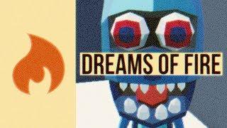 Dreams of Fire - Scary 3D Man - Lokijki