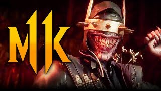 Mortal Kombat 11 - Joker NEW INTRO w/ 'Batman Who Laughs' Skin! (Character Dialogue)