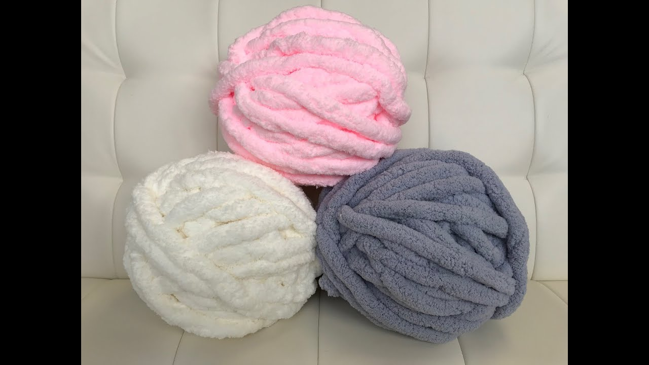 HOW TO START KNITTING WITH CHUNKY CHENILLE YARN