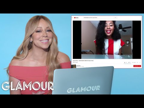 Mariah Carey Watches Fan Covers On YouTube | Glamour
