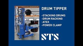 STS - Drum Rotator, Stacking Drums, Drum Racking Drum Handling Unit  (Model: STP01-RRH01-Ex-SP)