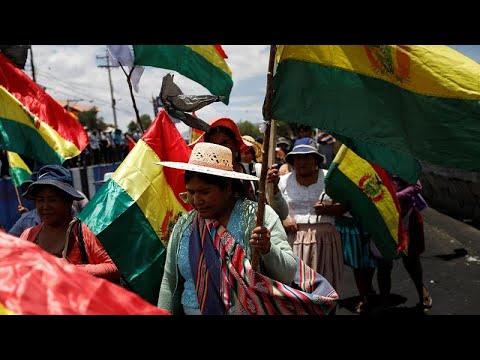 euronews (en español): Bolivia intenta allanar el camino para nuevas elecciones
