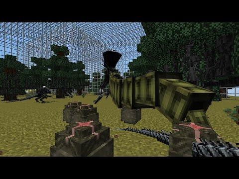 Let's Play Minecraft AVP [S3E54] Artificial Xenomorph Hive