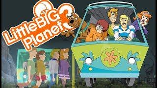 SCOOBY DOO DEATHRUN! | Little Big Planet 3 Multiplayer (112)