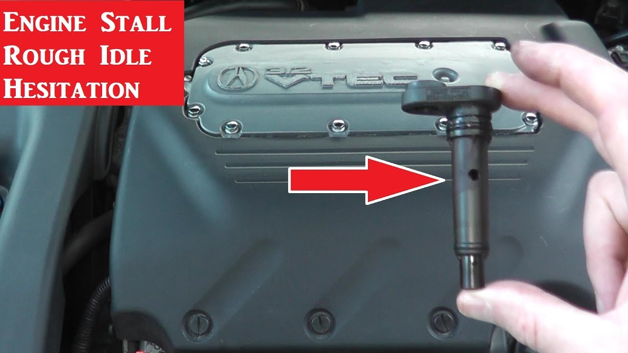 how to test and replace the pcv valve for an acura (tl)