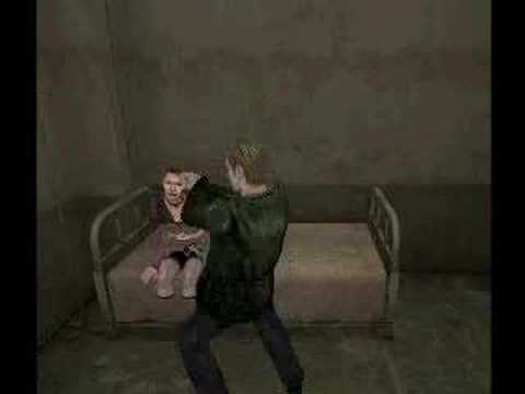Silent Hill 2 Cam Hack James In Prison Cell Youtube