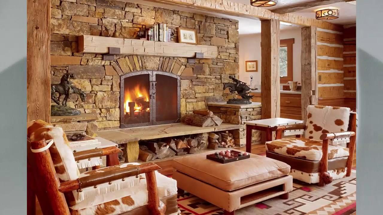 Wohnzimmer rustikal ideen  Haus Ideen