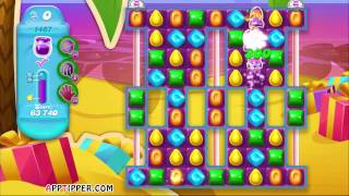 Candy Crush Soda Saga Level 1467 - 5 Moves Left - No Boosters