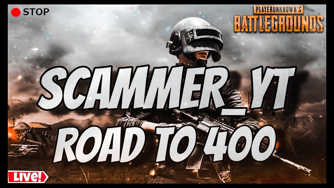 PUBG MOBILE || Run Loot Die Repeat || SCAMMER BOLTE ||