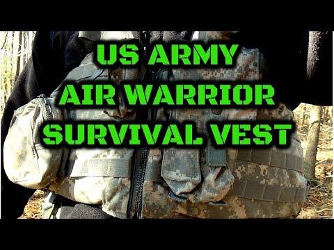 AIR WARRIOR SURVIVAL VEST - US ARMY