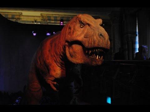 Natural History Museum Animatronic T-Rex (Animatronic Dinosaur)