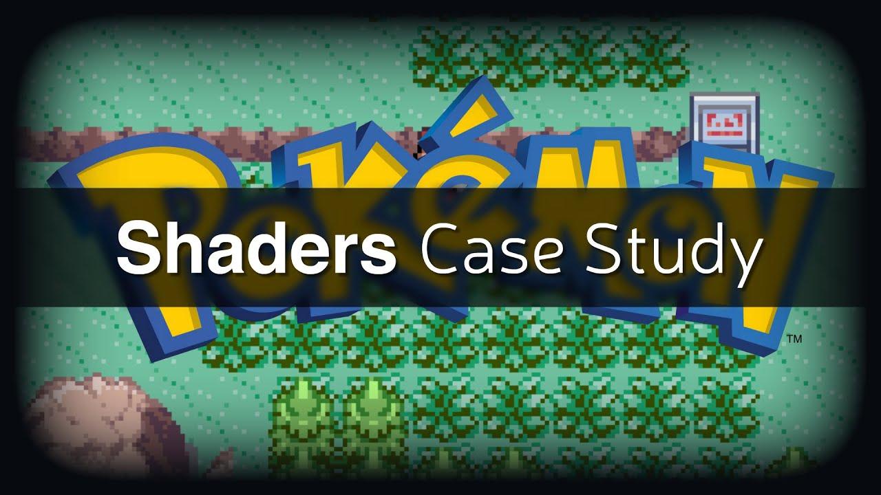 Shaders Case Study - Pokémon Battle Transitions
