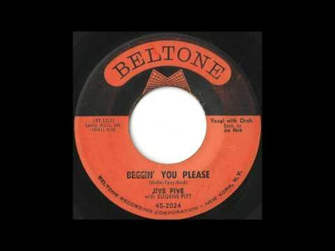 Jive Five - Beggin' You Please - Killer Brooklyn Doo Wop Ballad