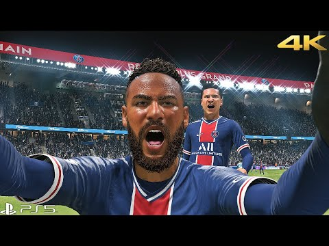 FIFA 21 - PSG Vs Manchester City   UCL Gameplay PS5™ [4K 60fps]