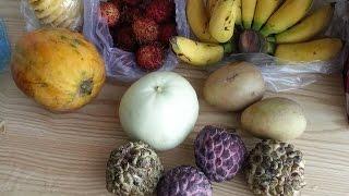 Экзотические фрукты Вьетнама (Нячанг). Вкусные(Делимся впечатлениями из поездки во Вьетнам. Пробуем различные фрукты с местного рынка. Маракуйя, сердце..., 2016-01-02T07:52:59.000Z)