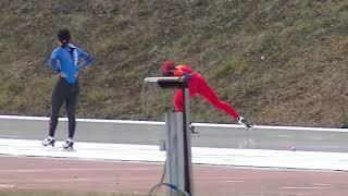 2018年11月18日 苫小牧ハイランド競技会 男子1500m 01組 thumbnail