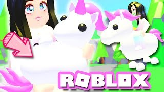 FINALLY GOT THE UNICORN PET! | Adopt Me Roblox PETS Update