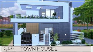 Town House 2 + DOWNLOAD + TOUR + CC CREATORS | The Sims 4 | Part1
