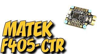 идеальный полетный контроллер для INAV - Matek F405-CTR