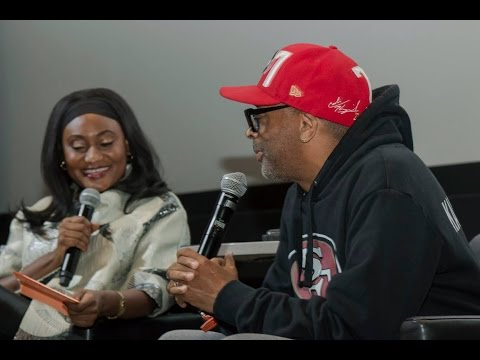 What Spike Lee said to actress Fabienne Colas live at #MIBFF