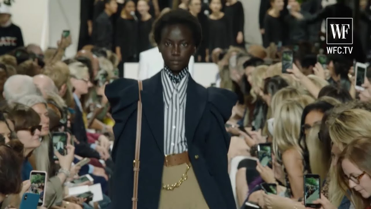 Michael Kors Collection Fashion Show With Choir Ss2020 New York Fashion Week Youtube