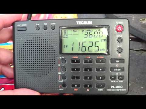 Vatican Radio 2000 UTC DXpedition Tecsun PL 680 VS 380