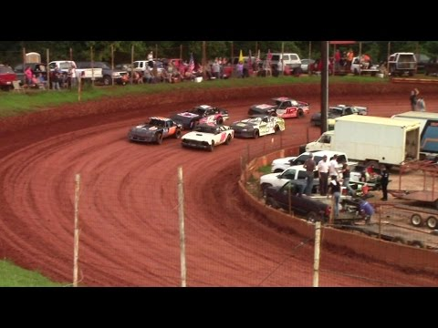 Winder Barrow Speedway Modified Street Feature Race 8/22/15