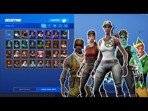 I got the RAREST Fortnite ACCOUNT! Recon Expert, Ghoul Trooper, Renegade Raider, Tracker and MORE!