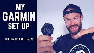 Garmin Data Screens I use for Racing / Intervals / Progressive / Easy and Ultra Runs!
