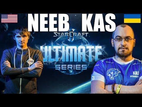 Starladder ULTIMATE Global Playoffs Ro12 - Neeb (Protoss) vs Kas (Terran)