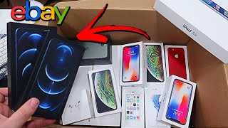 """I BOUGHT AN APPLE STORE MYSTERY BOX FROM EBAY!! """"I GOT SCAMMED"""""""