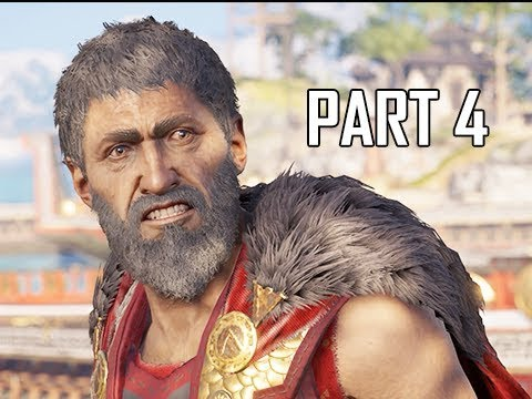 Download ASSASSIN'S CREED ODYSSEY Walkthrough Part 4 - Wolf of Sparta (Let's Play Commentary)