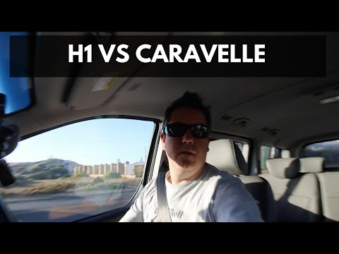 Hyundai H1 vs VW Caravelle