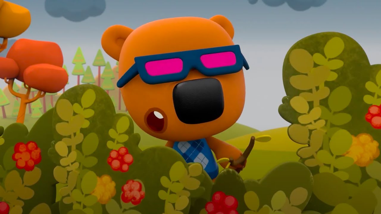 Мимимишки 🐻  - Новые серии - 🍂  Осенние приключения Мишек! ☔ За окном дождь!