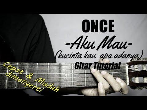 (Gitar Tutorial) ONCE - Kucinta Kau Apa Adanya |Mudah & Cepat Dimengerti Untuk Pemula