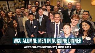 WCU Alumni Hosts Men in Nursing Dinner: June 2019