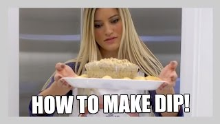 How to Make Dip! | iJustine Cooking | iJustine