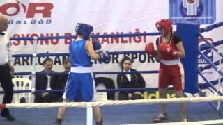 İzmir Çeşme Yıldız Bayanlar Türkiye Boks Şampiyonası 2