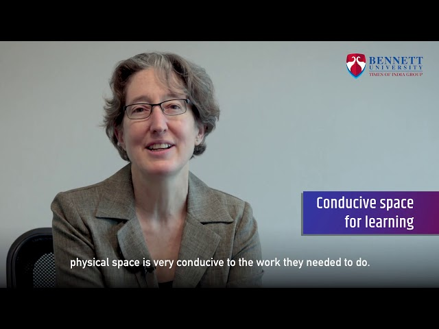Prof. Beth Lyon (Cornell Law School) shares her experience teaching at Bennett University