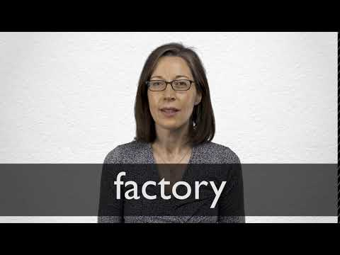 How to pronounce FACTORY in British English