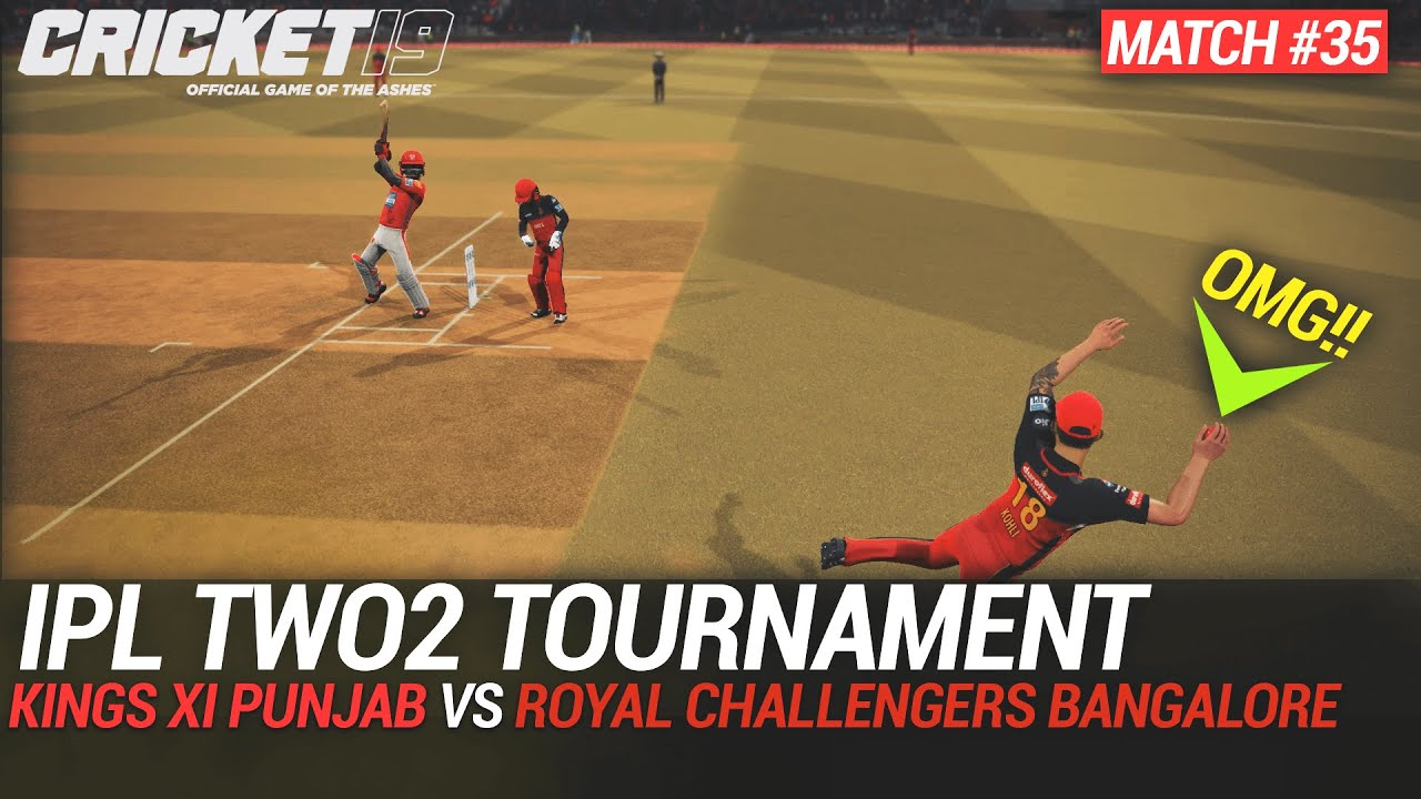 CRICKET 19 - IPL2020 TWO2 - MATCH #35 - KINGS XI PUNJAB vs ROYAL CHALLENGERS BANGALORE