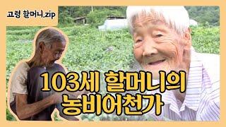 103세 박금순 할머니의 농비어천가 @토요특집 모닝와이드 130810